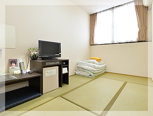 和室5.5畳 1名〜2名用の和室