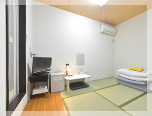 窓なし和室4.5畳 1名〜2名用の和室